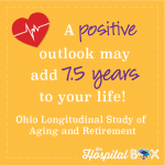 A positive outlook may add 7.5 years to your life!