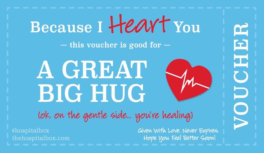 A Great Big Hug Get Well Soon Gift