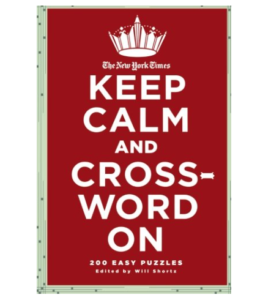 Keep Calm Crossword Puzzle